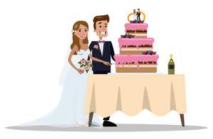 Wedding Bride and Groom (Image)