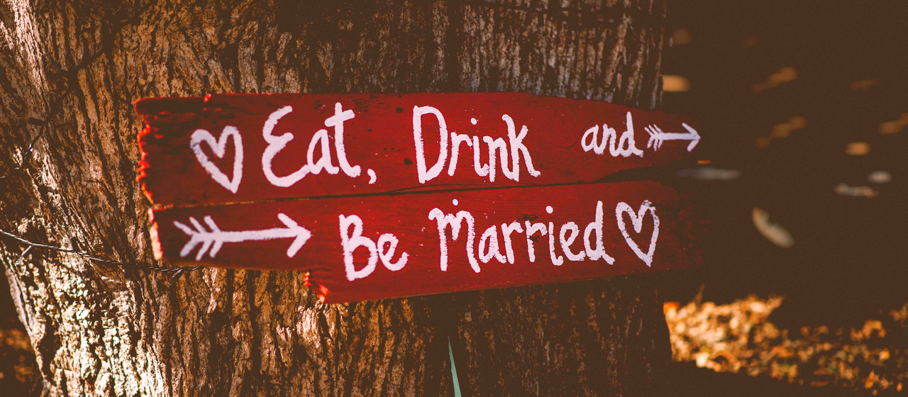 Eat Drink and Be Married (Photo)