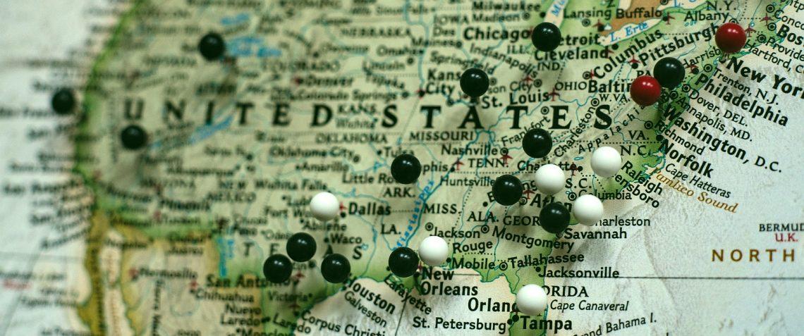 United States Ordination Map (Image)