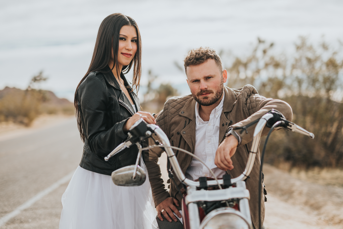 Biker Couple (Photo)